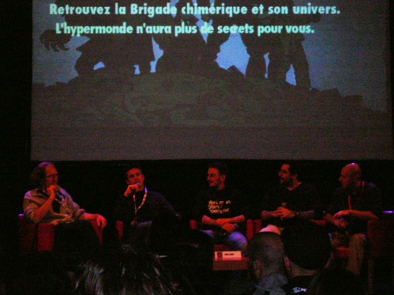 Conférence sur la Brigade Chimérique