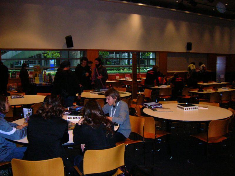 Salle des jeux de société